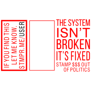 The System Isn't Broken, It's Fixed